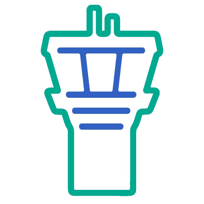 Icon ICONEN web 2 kleuren control tower