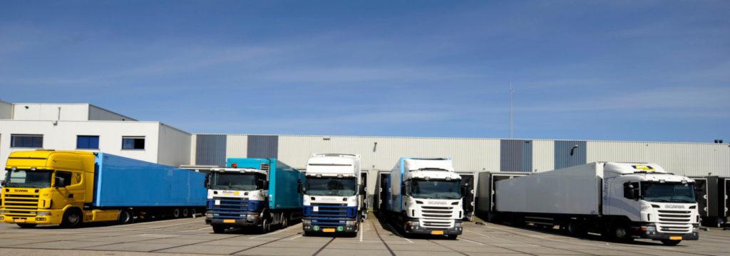 Header Trucks Loading