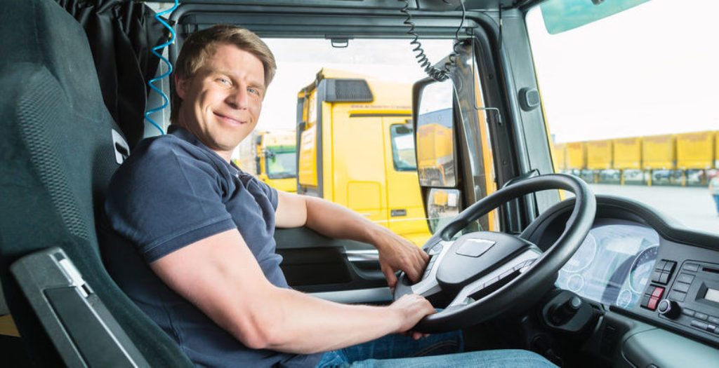 Truck Driver Smiling Peripass
