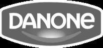 Logo Danone grey