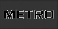 Logo Metro Grijs Transparant
